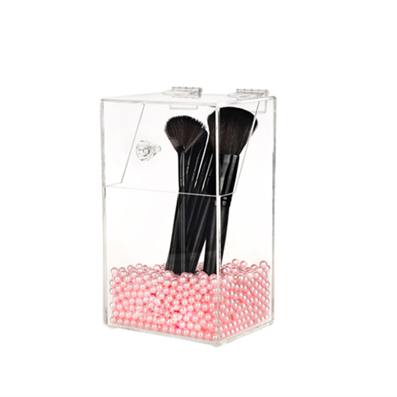 Perspex Jewelry Organizer Brush Holder